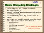 mobile computing challenges