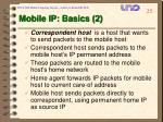mobile ip basics 2