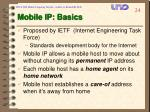 mobile ip basics