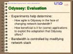 odyssey evaluation