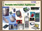 portable information appliances
