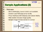 sample applications 2