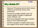 why mobile ip