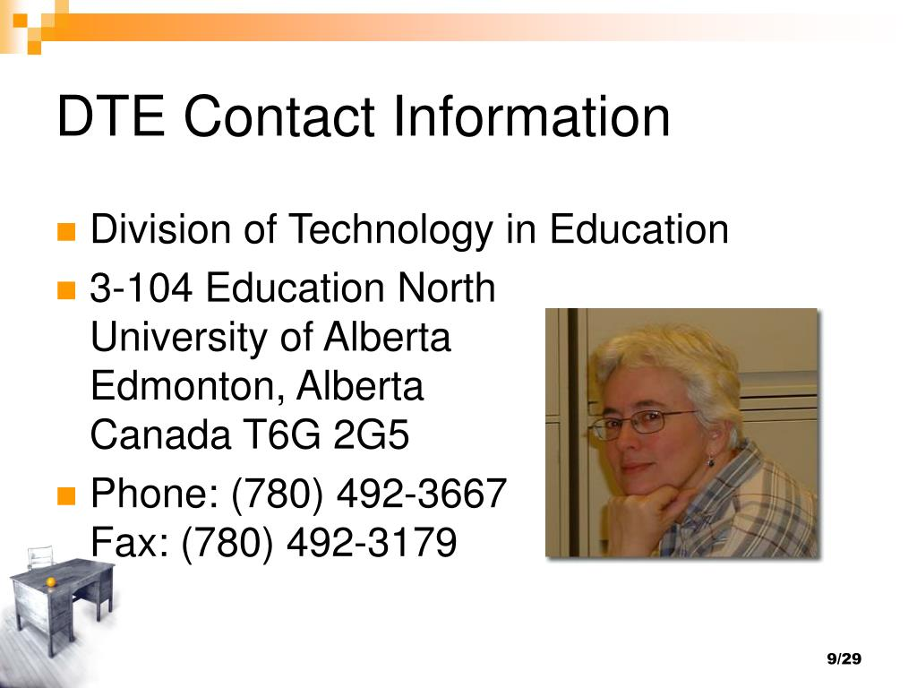 DTE Contact Information
