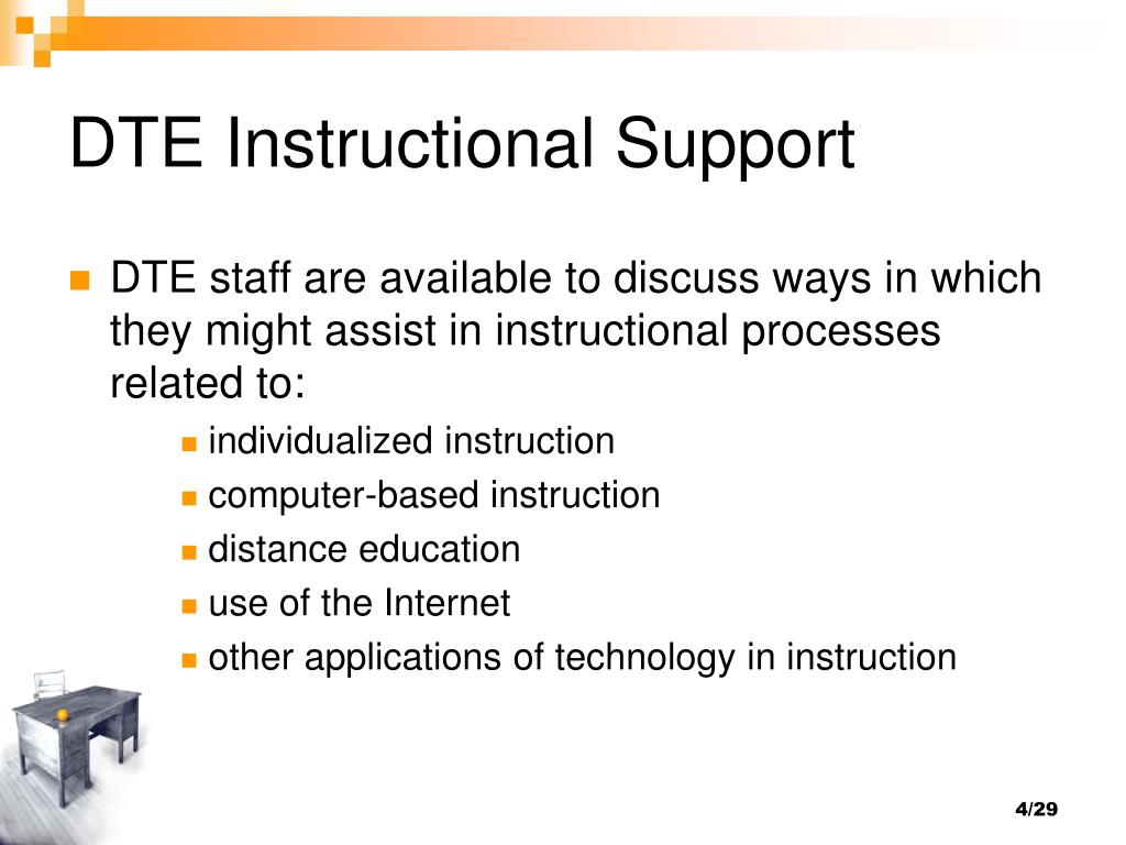 DTE Instructional Support