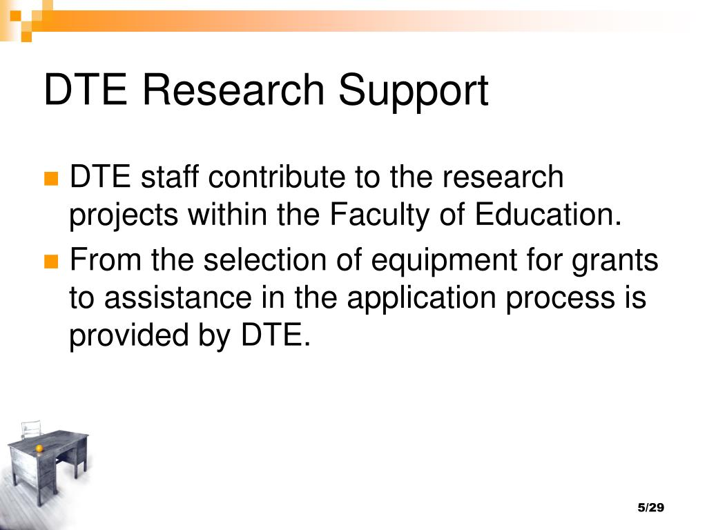 DTE Research Support