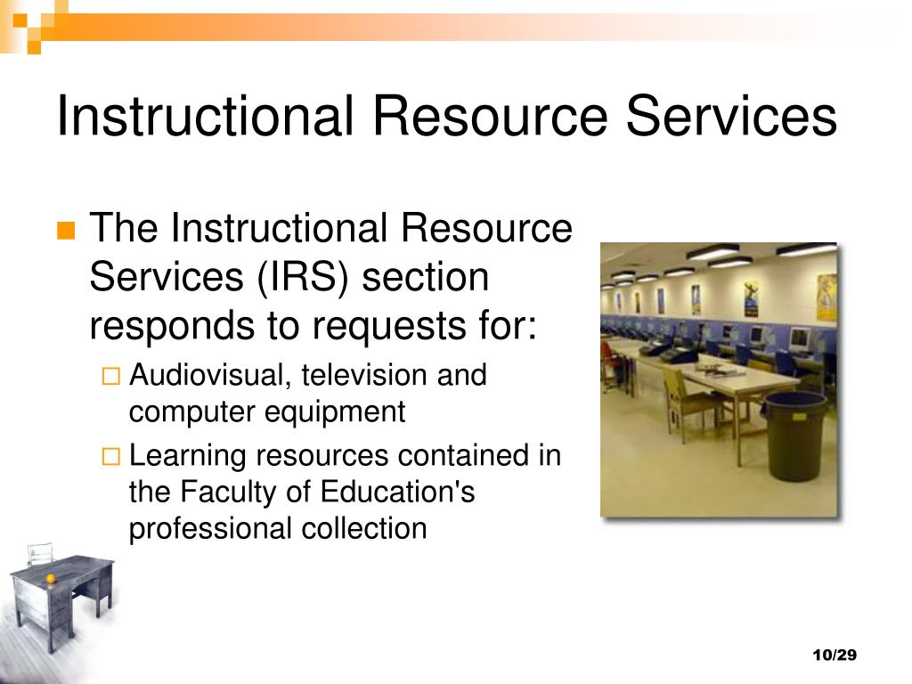Instructional Resource Services