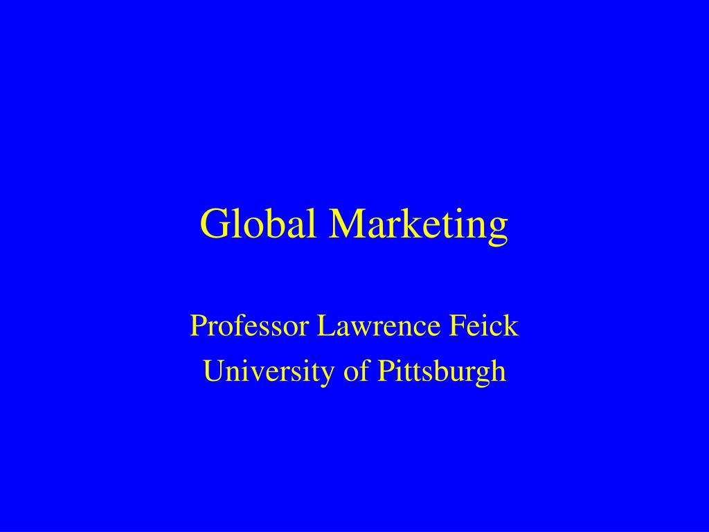 global marketing l.
