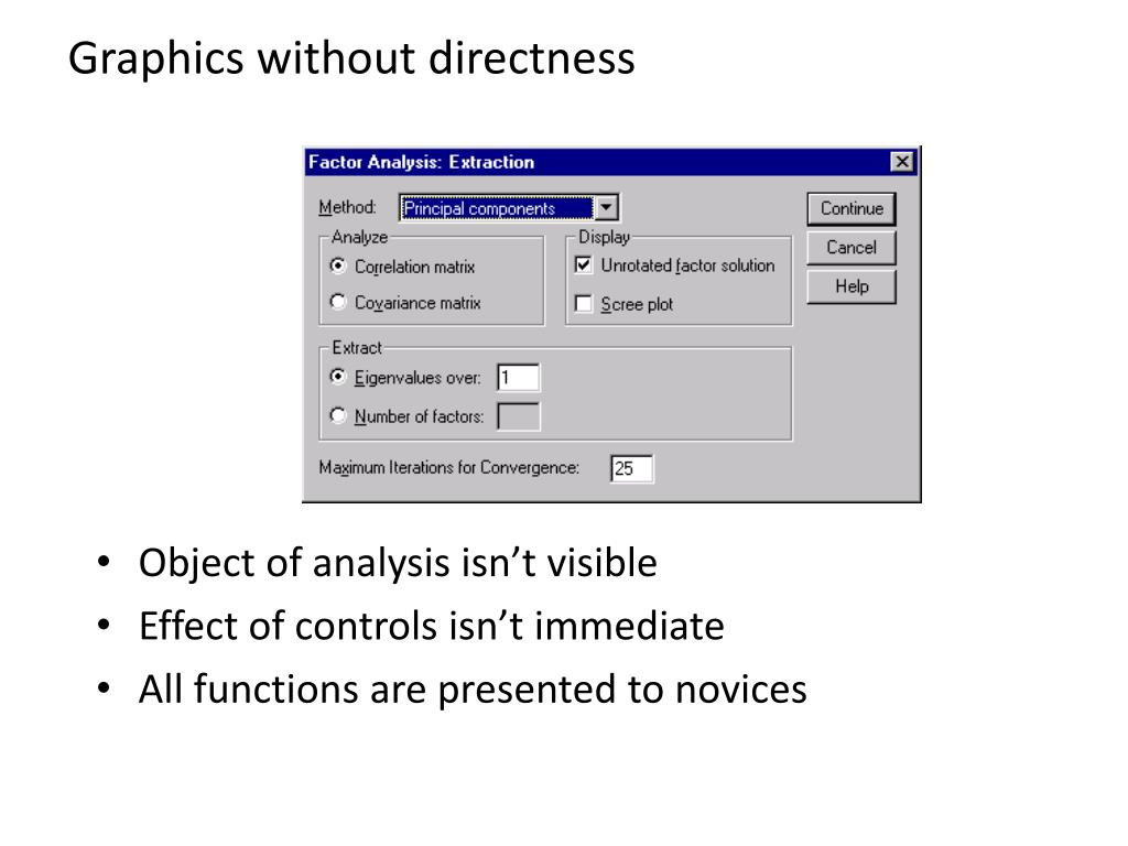 Graphics without directness