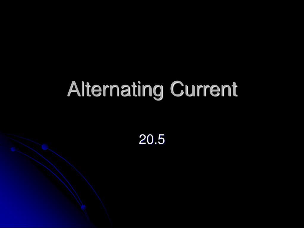 alternating current l.