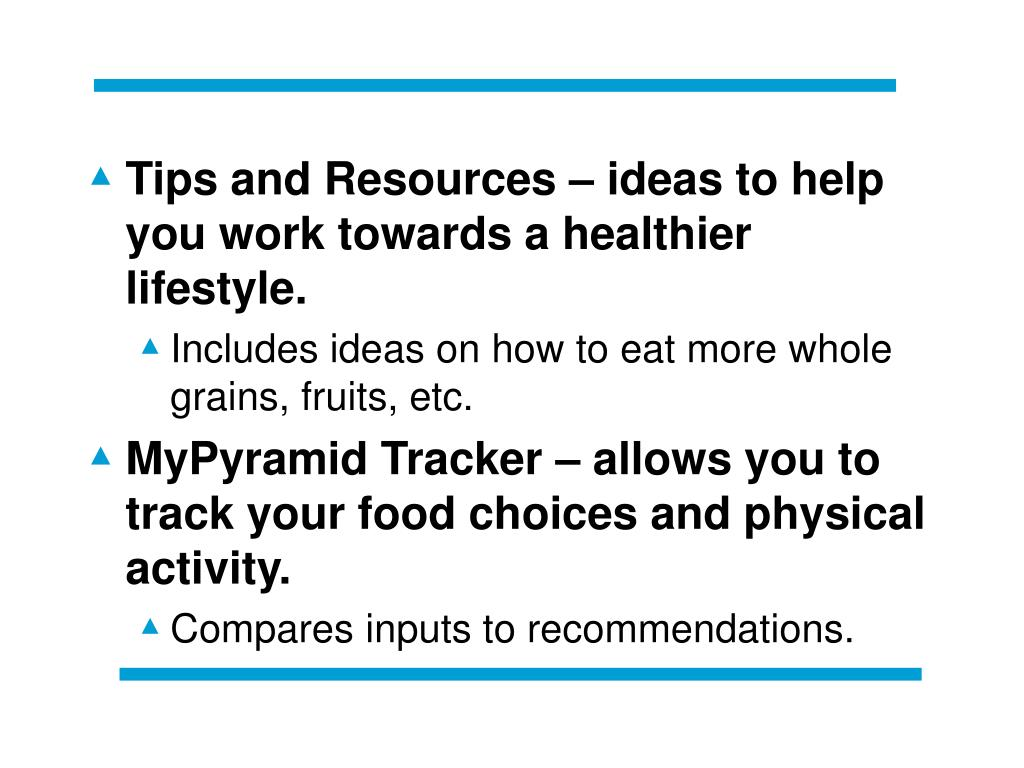 Tips and Resources – ideas to help you work towards a healthier lifestyle.