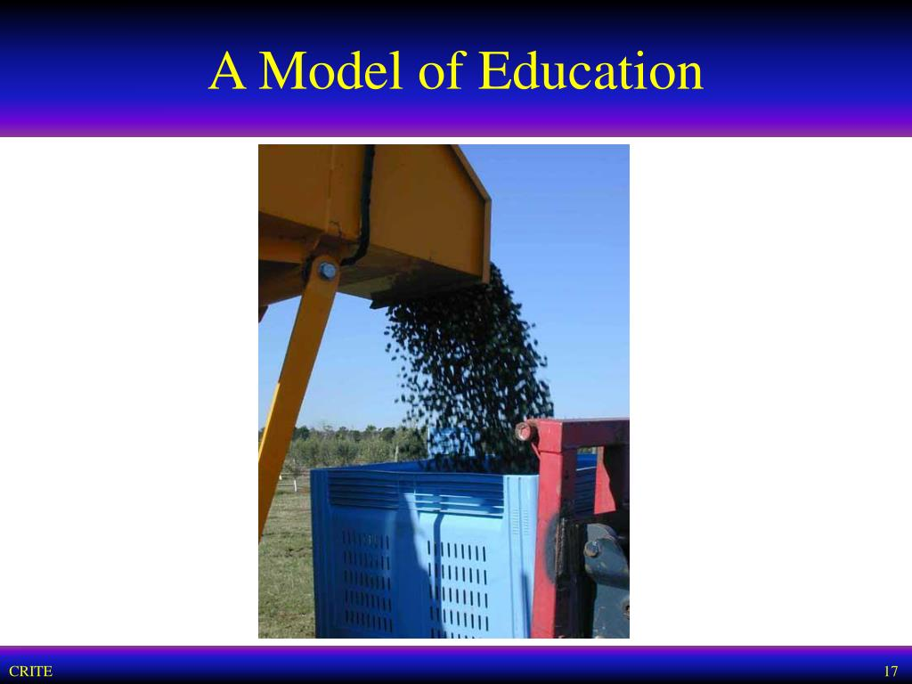 A Model of Education