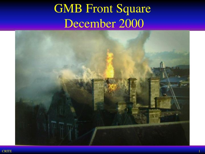 Gmb front square december 2000