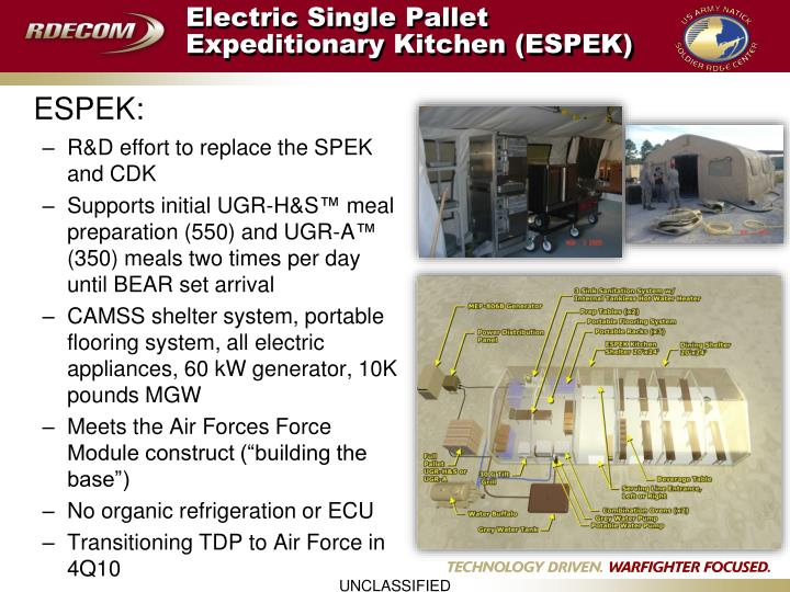 Ppt R Amp D Projects For The Marine Corps And Air Force Food