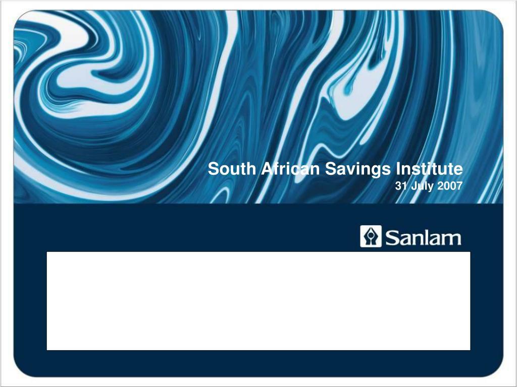 how to get sa to save jac laubscher group economist sanlam l.
