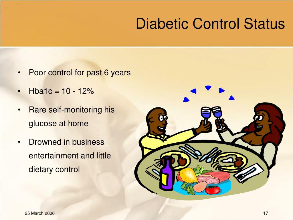 Diabetic Control Status