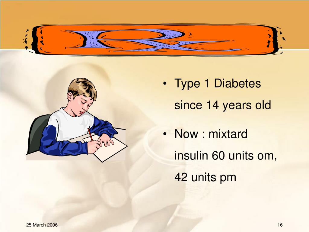 Type 1 Diabetes since 14 years old