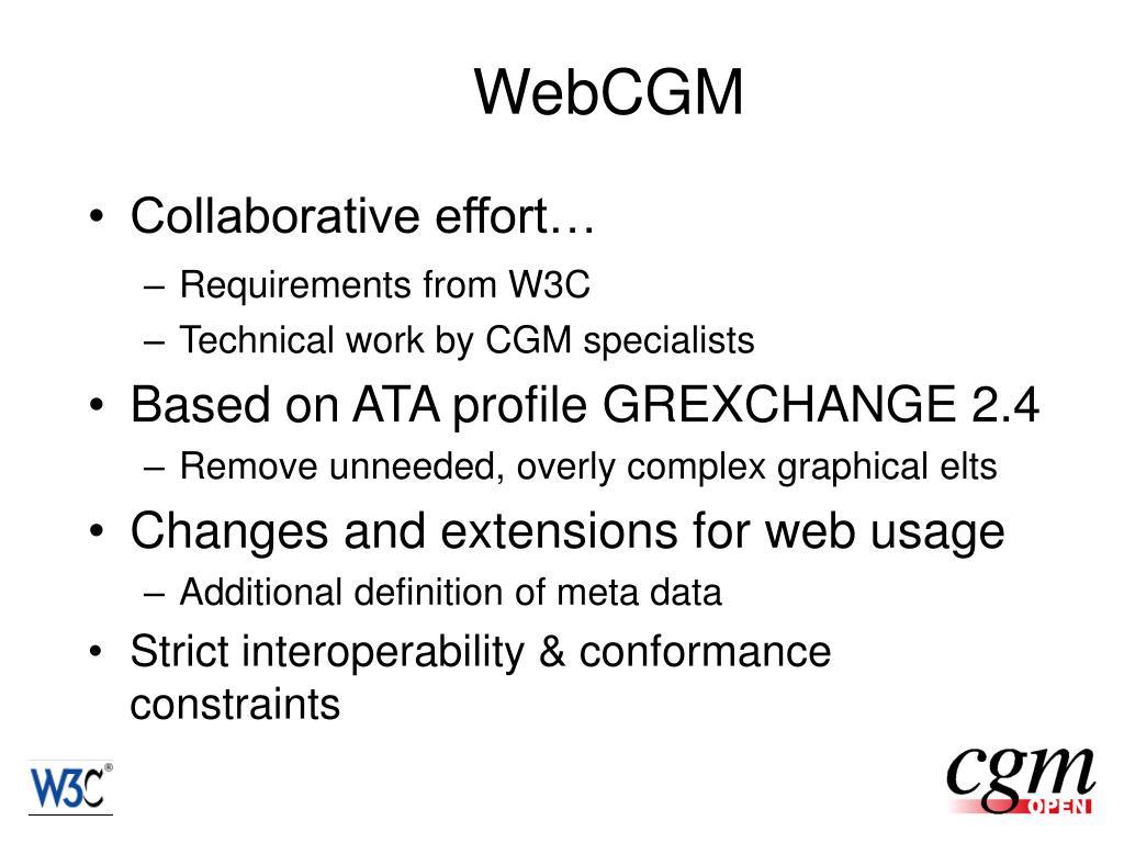 WebCGM