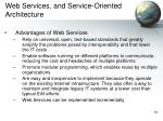 web services and service oriented architecture7