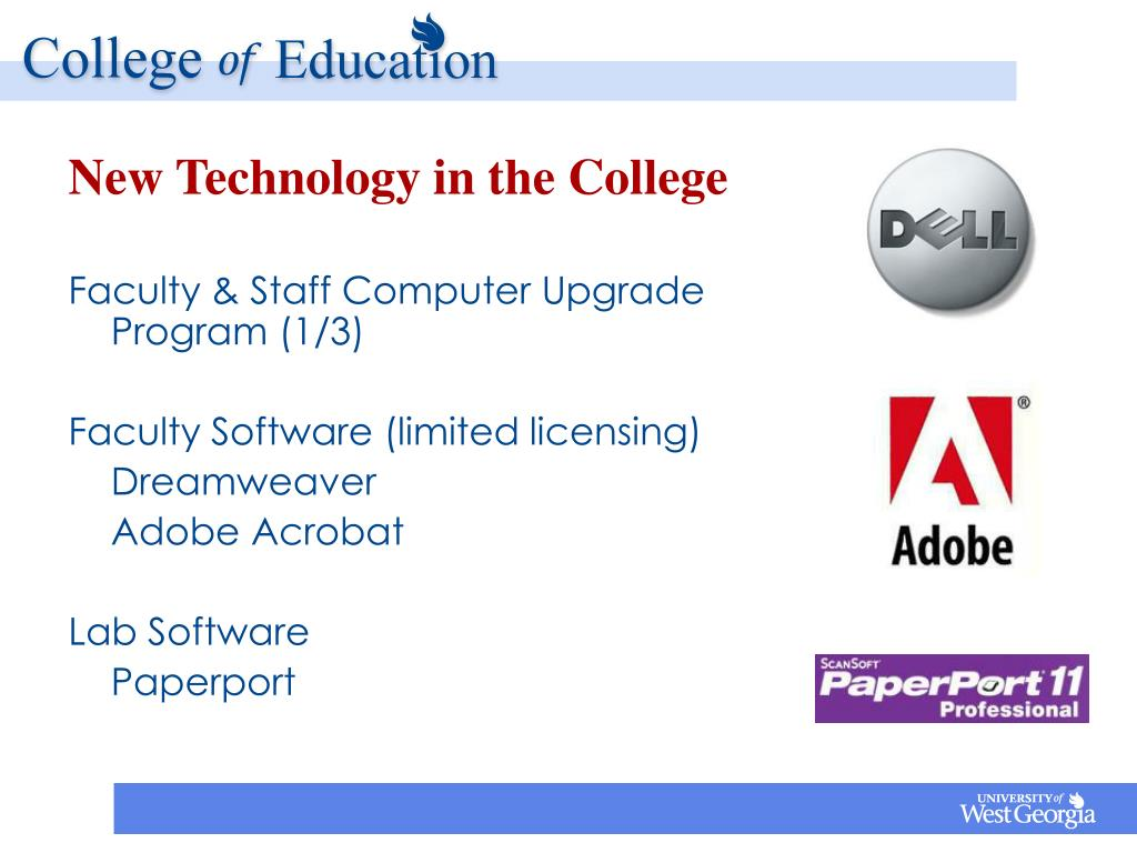 New Technology in the College