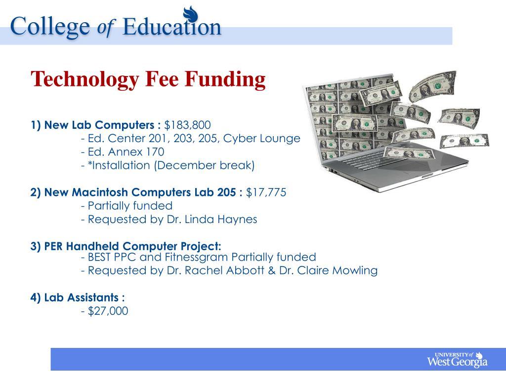 Technology Fee Funding