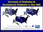 increase of diabetes gestational diabetes in the usa