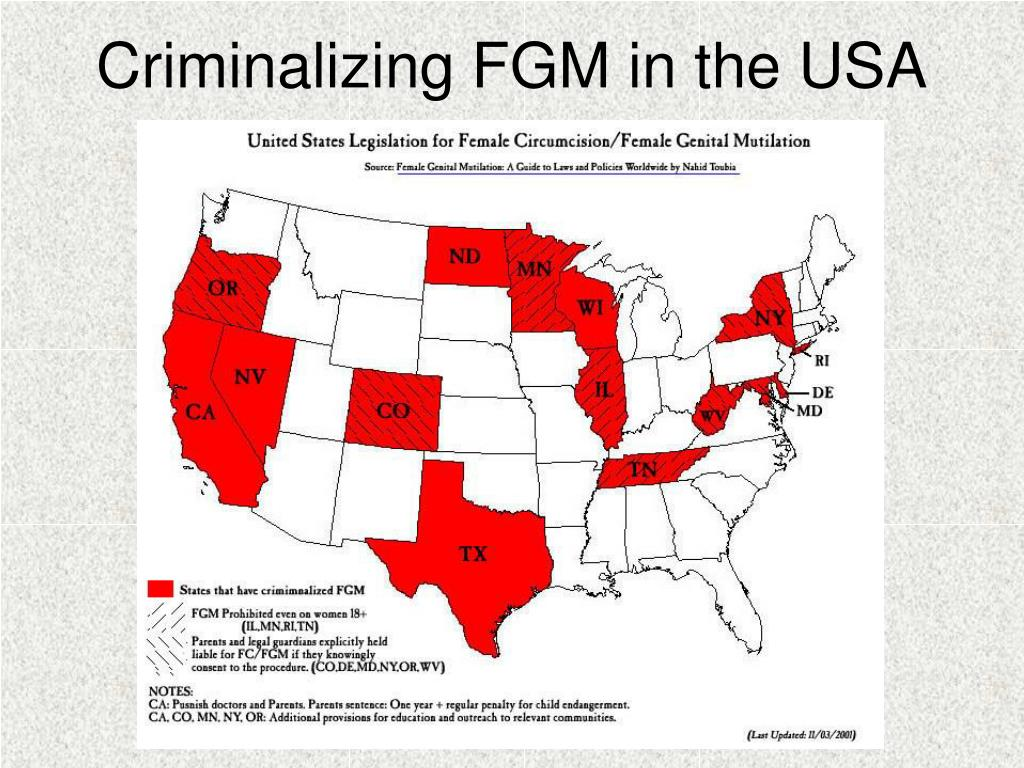 Criminalizing FGM in the USA