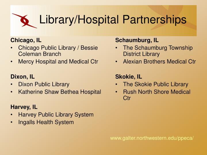 Library hospital partnerships