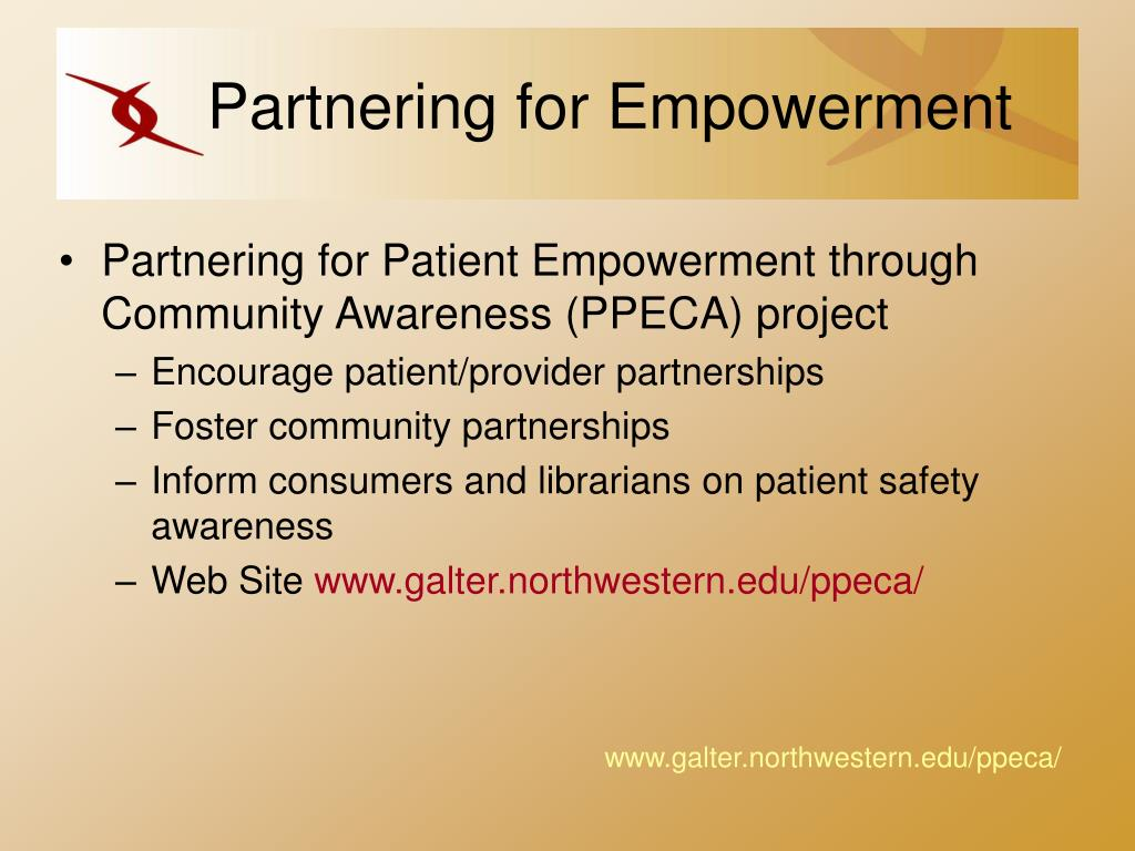 Partnering for Empowerment