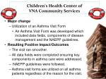 children s health center of vna community services