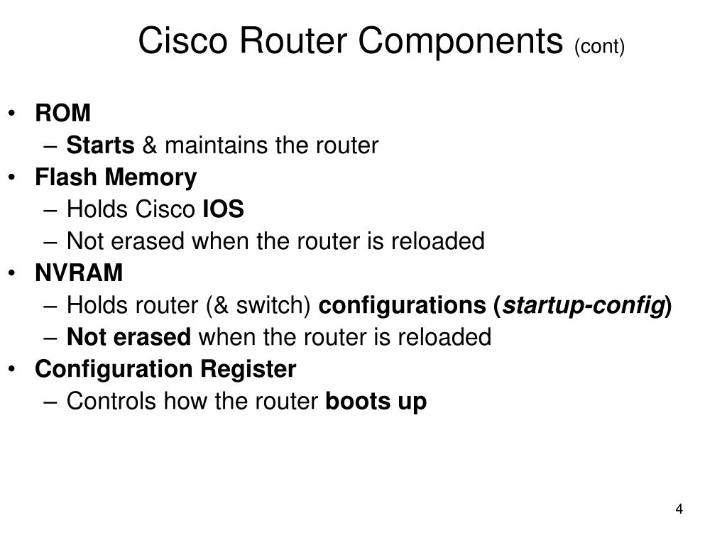 PPT - Sybex CCNA 640-802 Chapter 5: Managing a Cisco