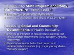 strengthening state program and policy infrastructure states should