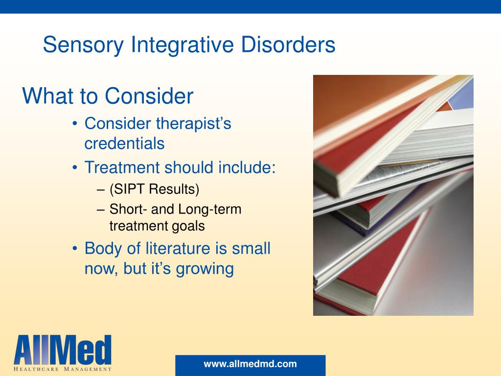 Sensory Integrative Disorders