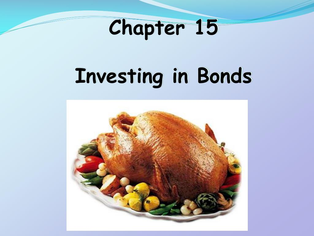 chapter 15 investing in bonds