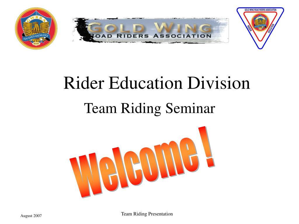 Rider Education Division