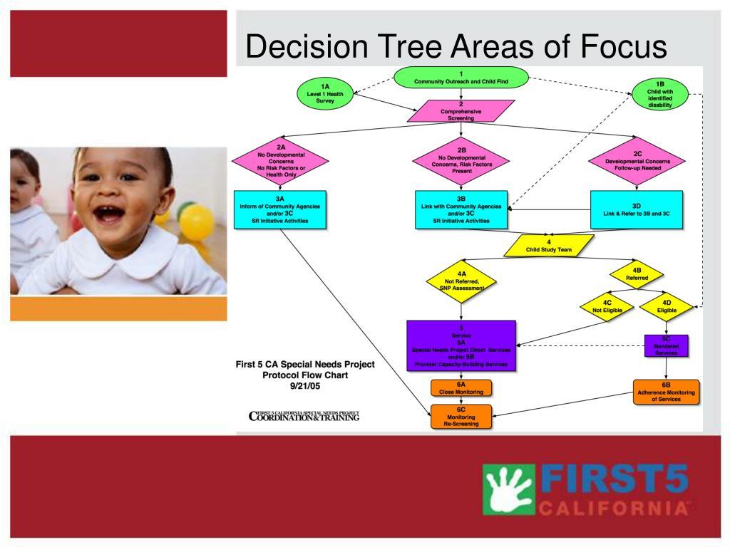 Decision Tree Areas of Focus