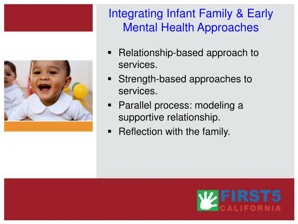 Integrating Infant Family & Early Mental Health Approaches