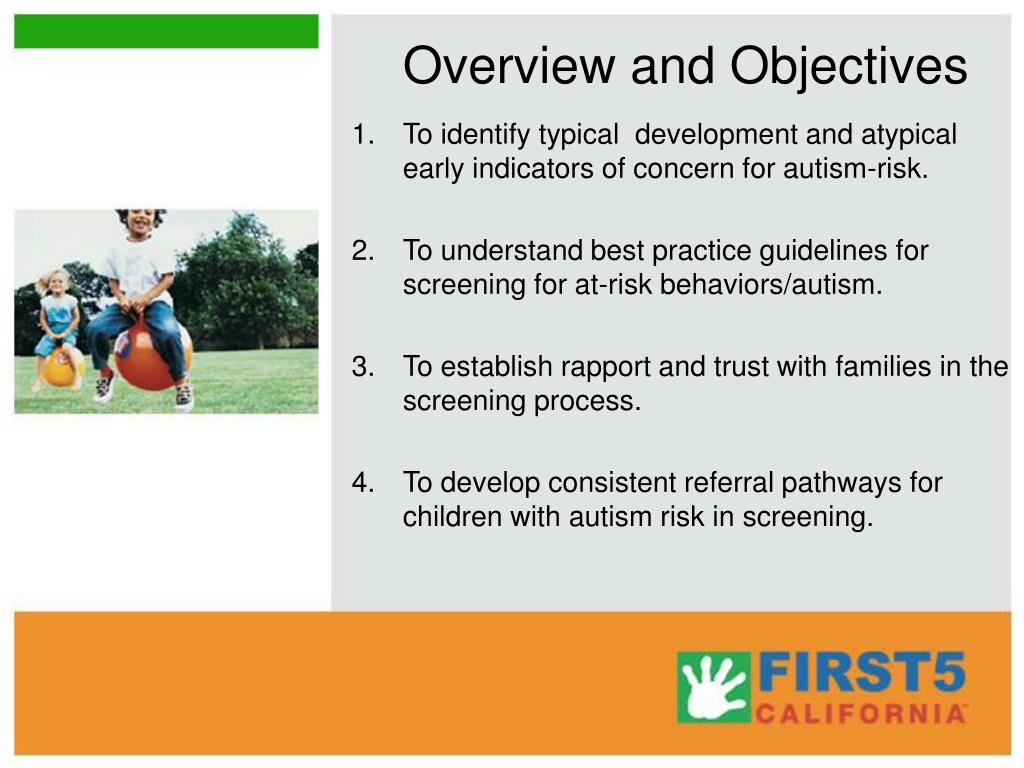 Overview and Objectives