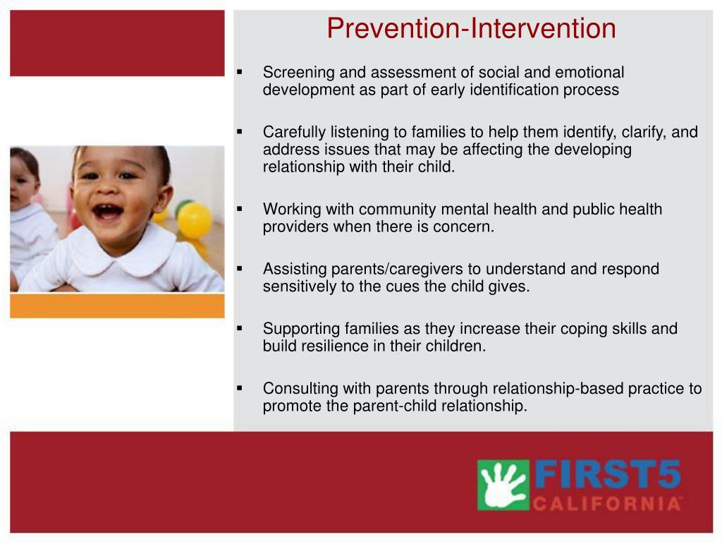 Prevention-Intervention