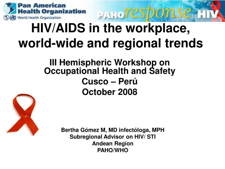 hiv aids in the workplace 10 principles in addition, the code sets out 10 key principles, such as suggesting that the workplace must facilitate access to comprehensive information and education to reduce the risk of hiv.