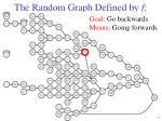 the random graph defined by f