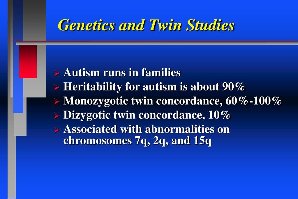 Genetics and Twin Studies