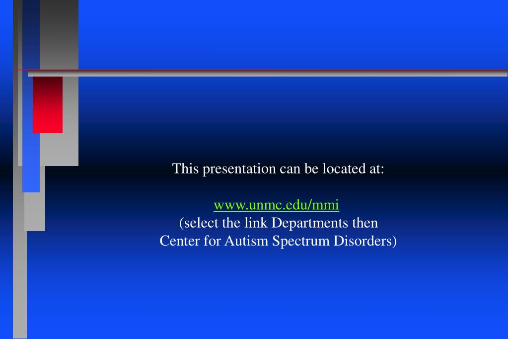This presentation can be located at: