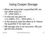 using cooper storage19