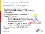 what are positive behavioral interventions and supports49