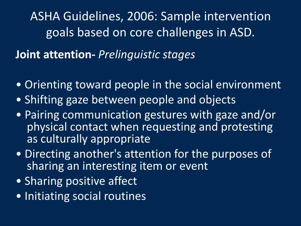 ASHA Guidelines, 2006: