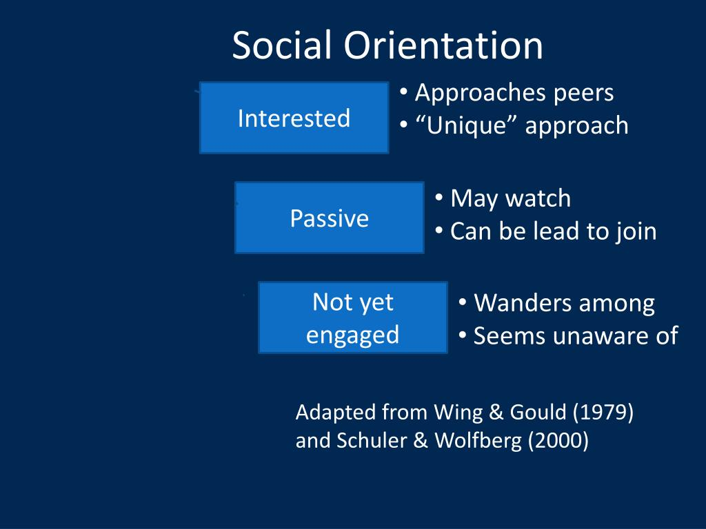 Social Orientation