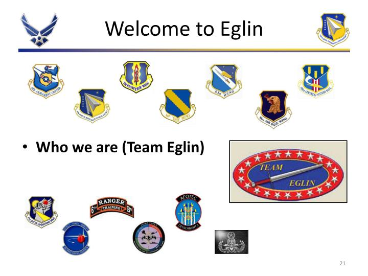 Welcome to Eglin