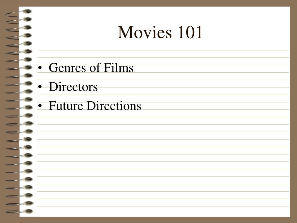 movies 101 l.