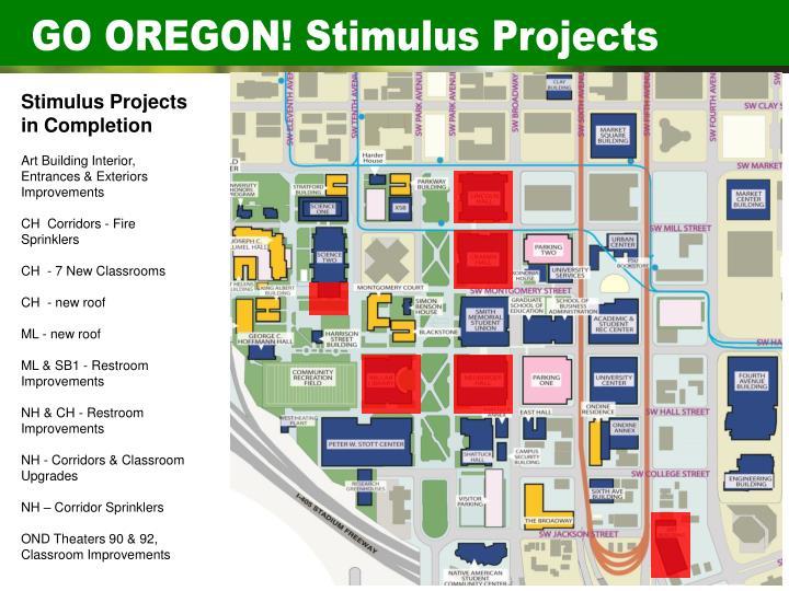 GO OREGON! Stimulus Projects